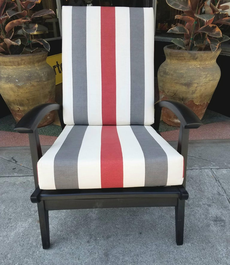 Italian Lounge Chairs for the Sorrento Hotel in Capri For Sale 1