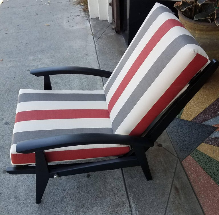 Italian Lounge Chairs for the Sorrento Hotel in Capri For Sale 2