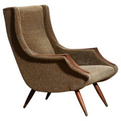 Italian Lounge / Easy Chair from the 1950s by Aldo Morbelli for Isa Bergamo
