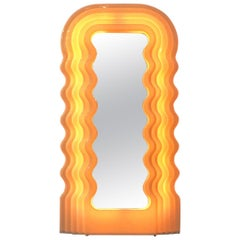 Italian Luminous Mirror Ultrafragola by Ettore Sottsass for Poltronova, 1970