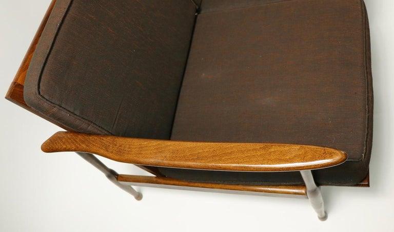 Italian Made Sofa in the Danish Modern Style For Sale 4