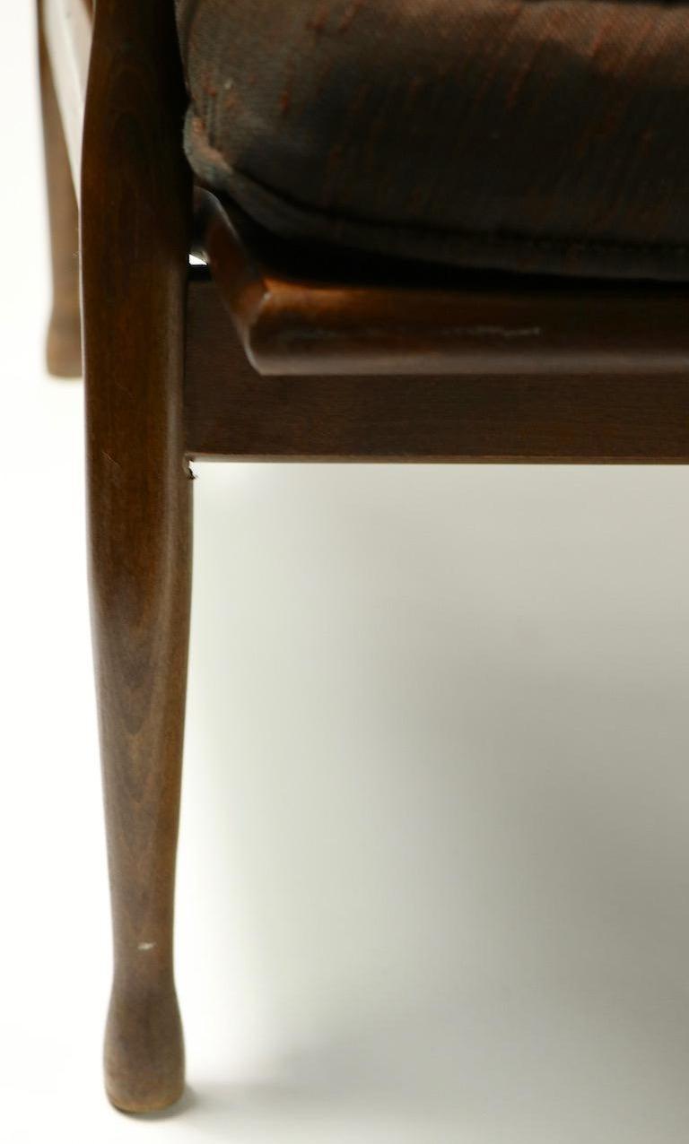 Italian Made Sofa in the Danish Modern Style For Sale 5