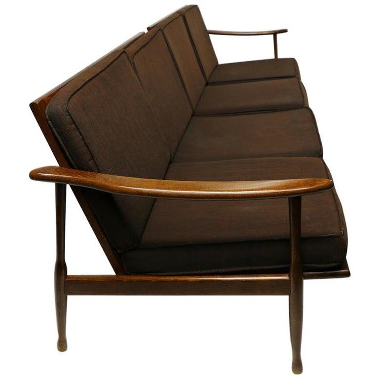 Italian Made Sofa in the Danish Modern Style For Sale