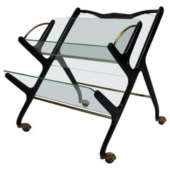 Italian Magazine Rack by Ico Parisi, 1950s