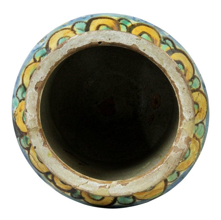 Pottery Italian Majolica Albarello For Sale