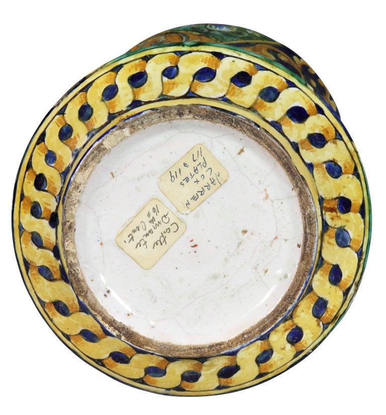 Italian Majolica Albarello or Apothecary Jar 4