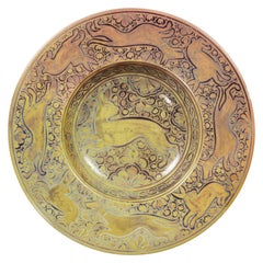Italian Majolica Bowl by Cantagalli