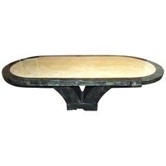 Italian Marble Dining Room Table