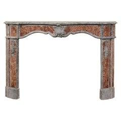 Italian Marble Fireplace Surround, 18th Century