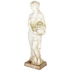 Italian Marble Garden Statue