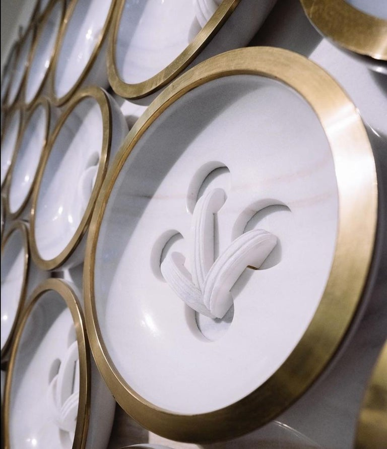 European Italian Marble Wall Feature For Sale