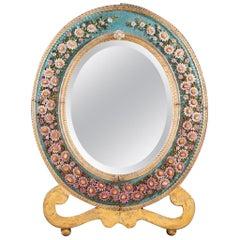 Italian Micro Mosaic Dressing Mirror