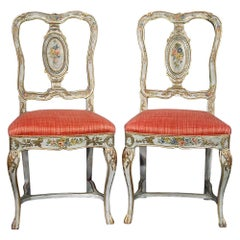 Italian Mid-18th Century Chairs