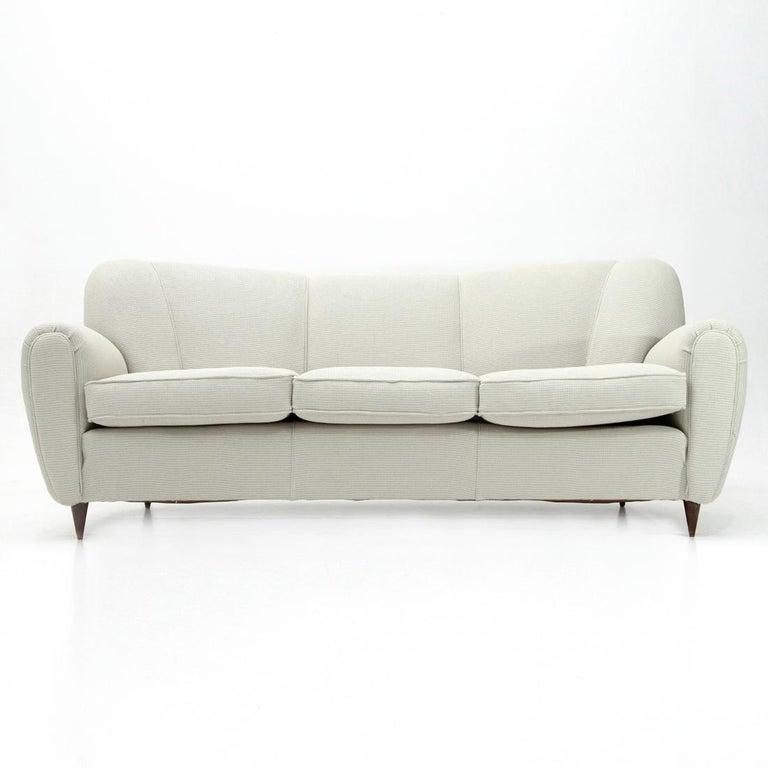 Italian Midcentury 3-Seat Sofa, 1940s For Sale at 1stdibs
