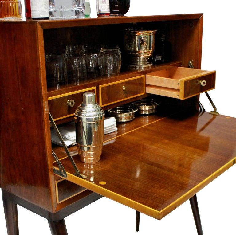 Mid-Century Modern Italian Midcentury Bar Cabinet