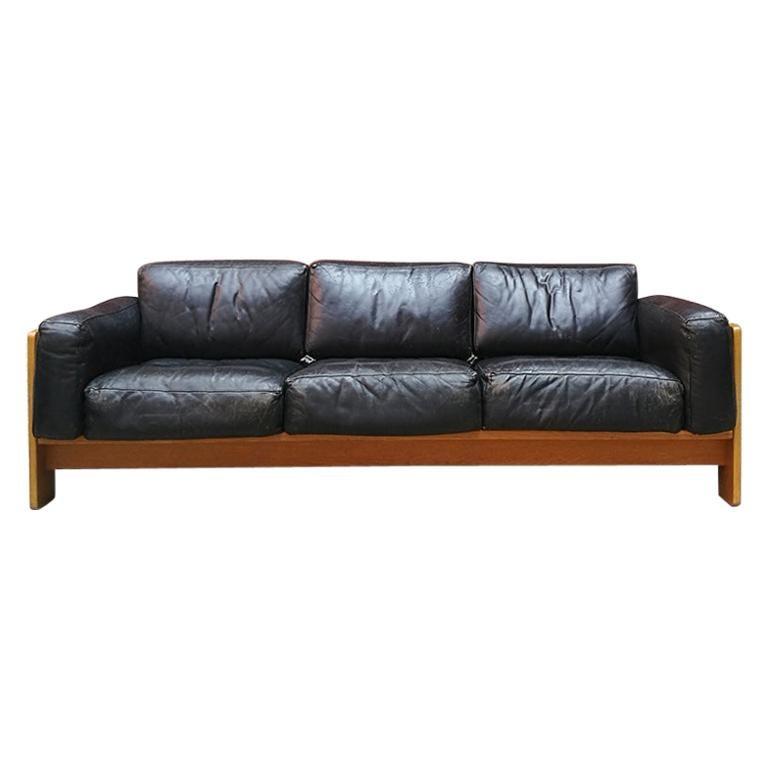 Italian Midcentury Bastiano Three-Seat Sofa by Tobia Scarpa for Knoll, 1962