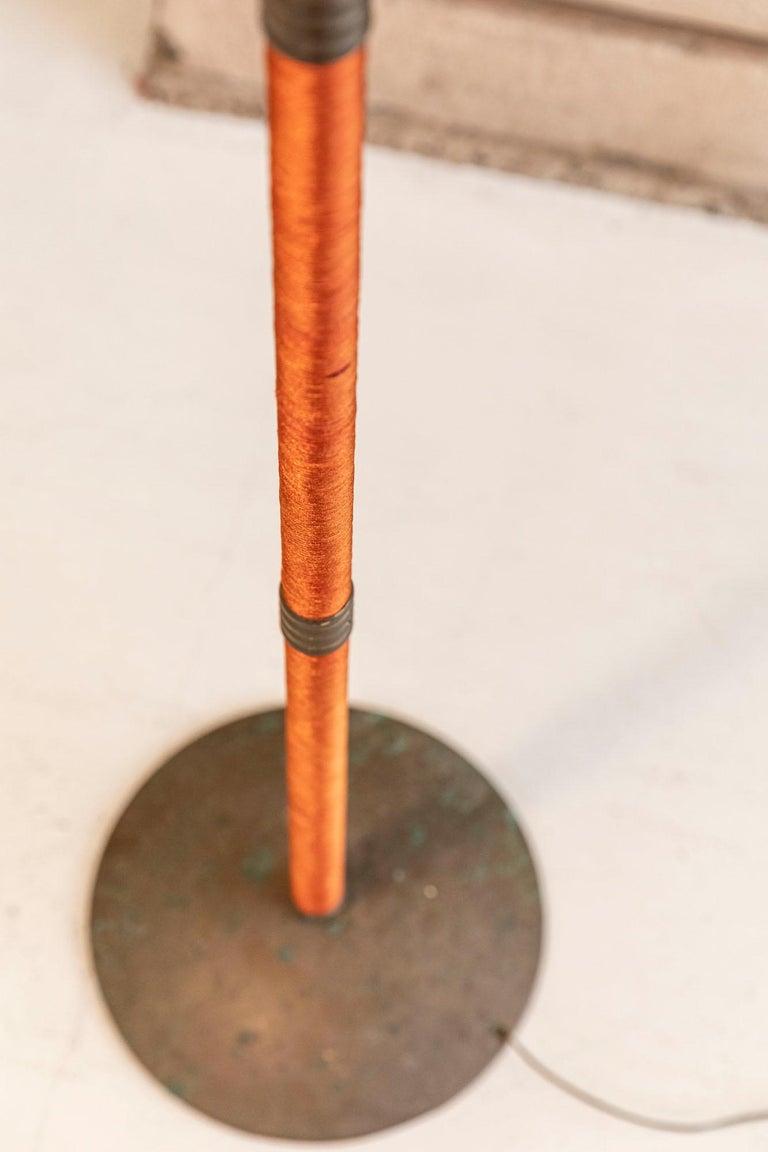 Italian Mid-Century Brass Floor Lamp 6