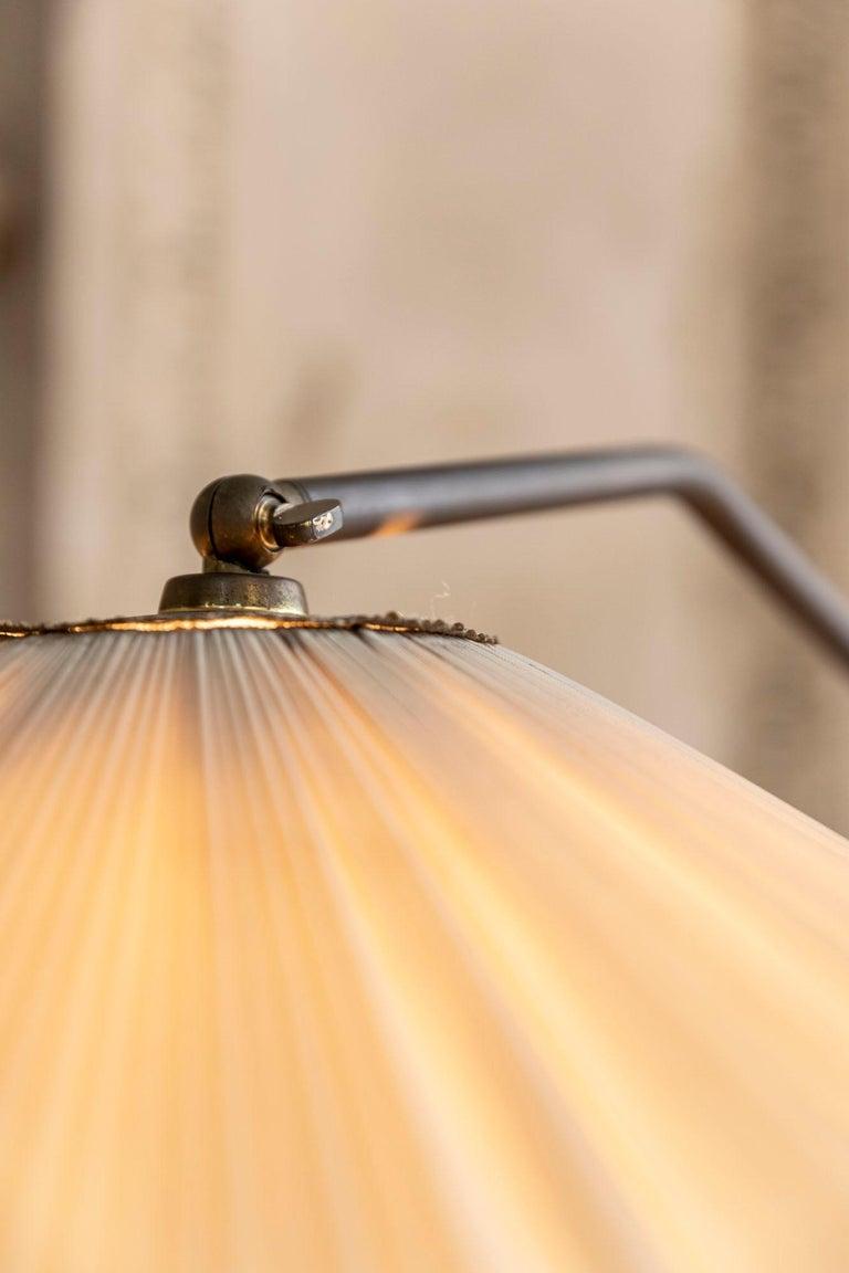 Italian Mid-Century Brass Floor Lamp 8
