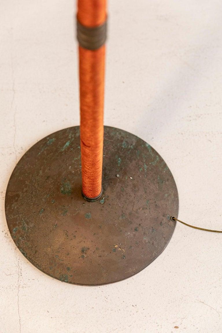 Italian Mid-Century Brass Floor Lamp 12