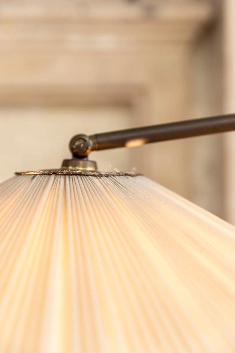 Italian Mid-Century Brass Floor Lamp 2
