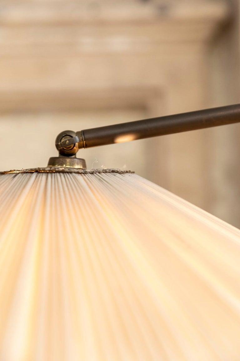 Italian Mid-Century Brass Floor Lamp 3