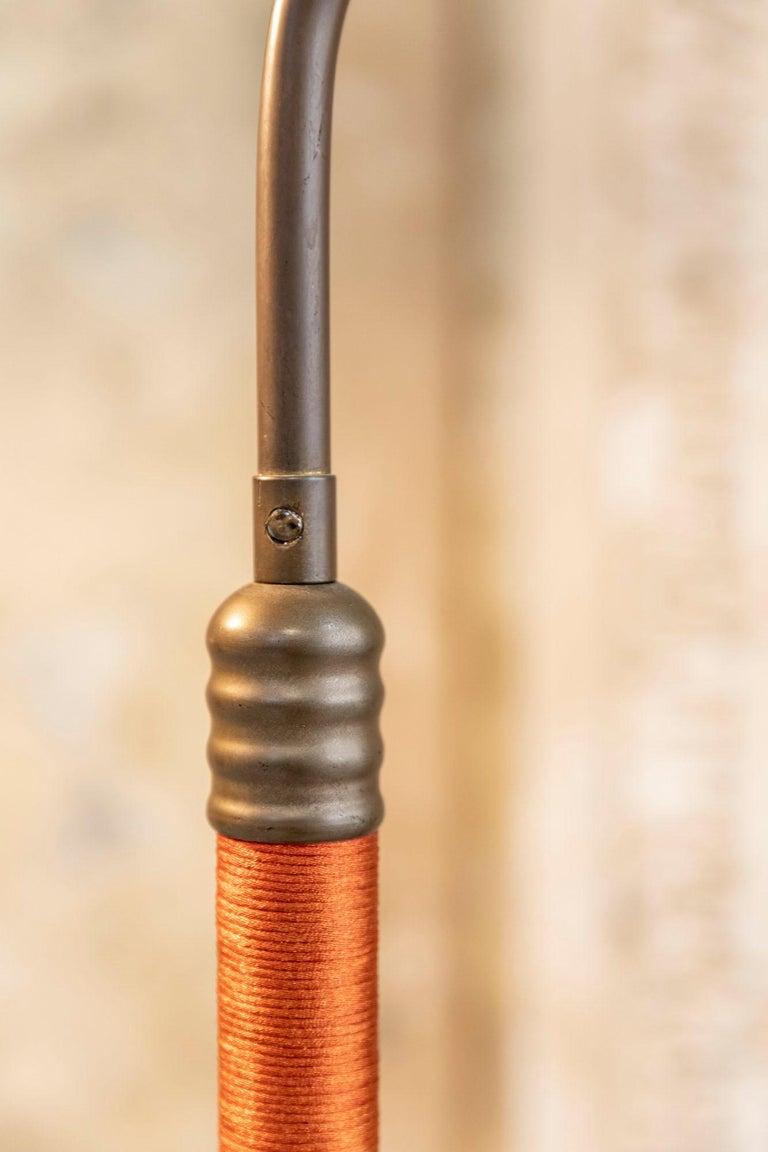 Italian Mid-Century Brass Floor Lamp 4