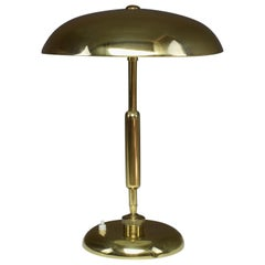 Italian Midcentury Brass Lamp by Oscar Torlasco for Lumi, 1950s