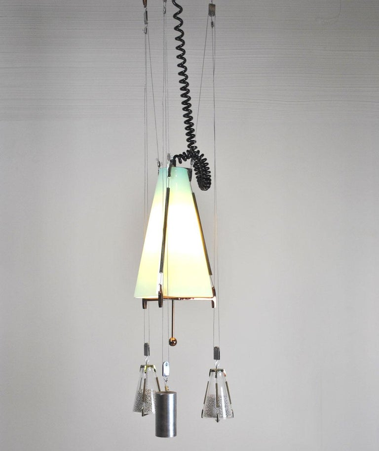 A particular chandelier in the