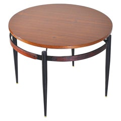 Italian Midcentury Circular Coffee Table