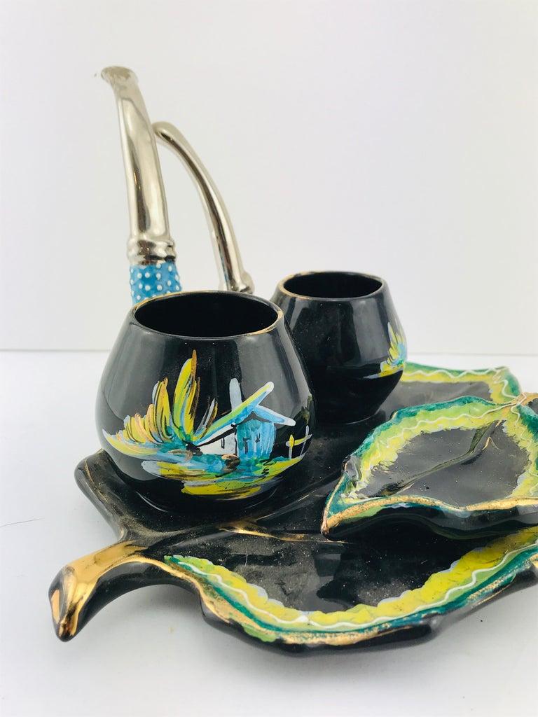 Italian Midcentury Decorative Ceramic by Osvaldo Gualdo Dolci, 1950s For Sale 9