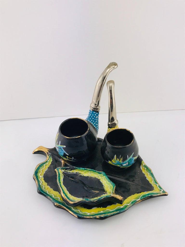 Italian Midcentury Decorative Ceramic by Osvaldo Gualdo Dolci, 1950s For Sale 10