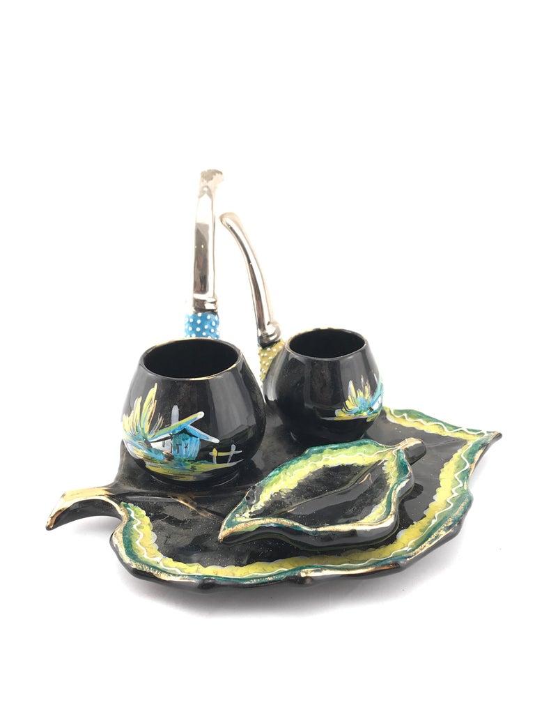 Incredible ceramic by Osvaldo Gualdo Dolci from, Italy, 1950s.