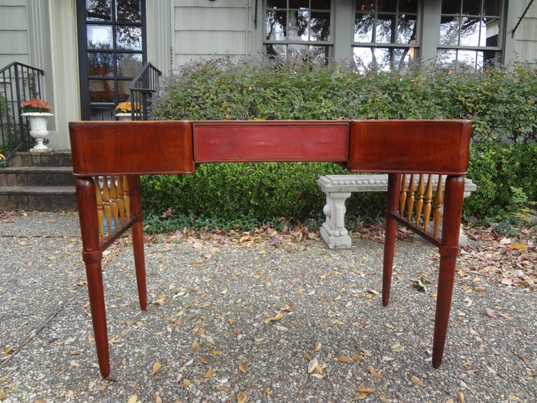 Mid-Century Modern Italian Midcentury Desk Attributed to Paolo Buffa For Sale
