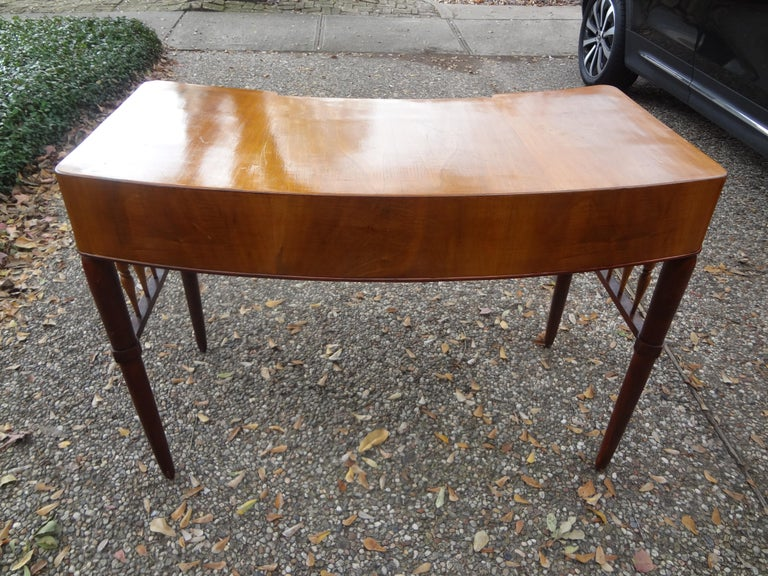 Mid-20th Century Italian Midcentury Desk Attributed to Paolo Buffa For Sale