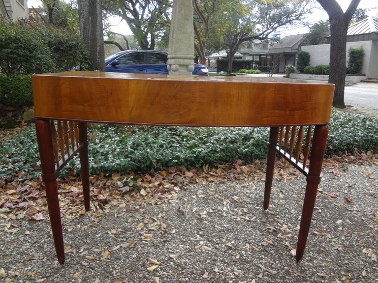 Shagreen Italian Midcentury Desk Attributed to Paolo Buffa For Sale