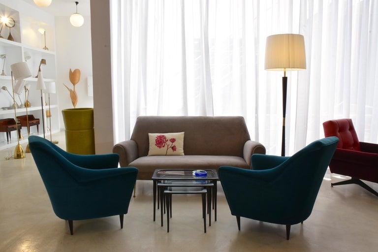 Italian Midcentury Floor Lamp by Stilnovo, 1960s For Sale 10