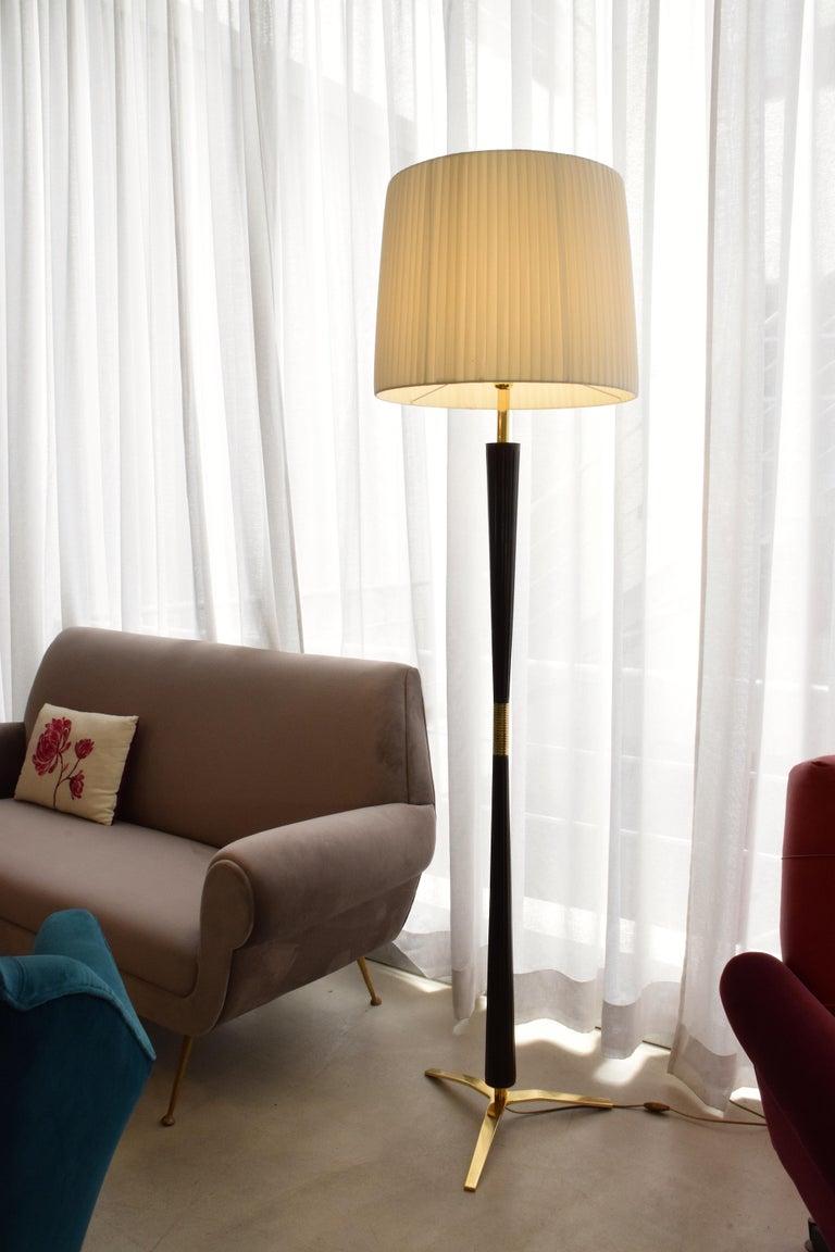 Italian Midcentury Floor Lamp by Stilnovo, 1960s For Sale 11
