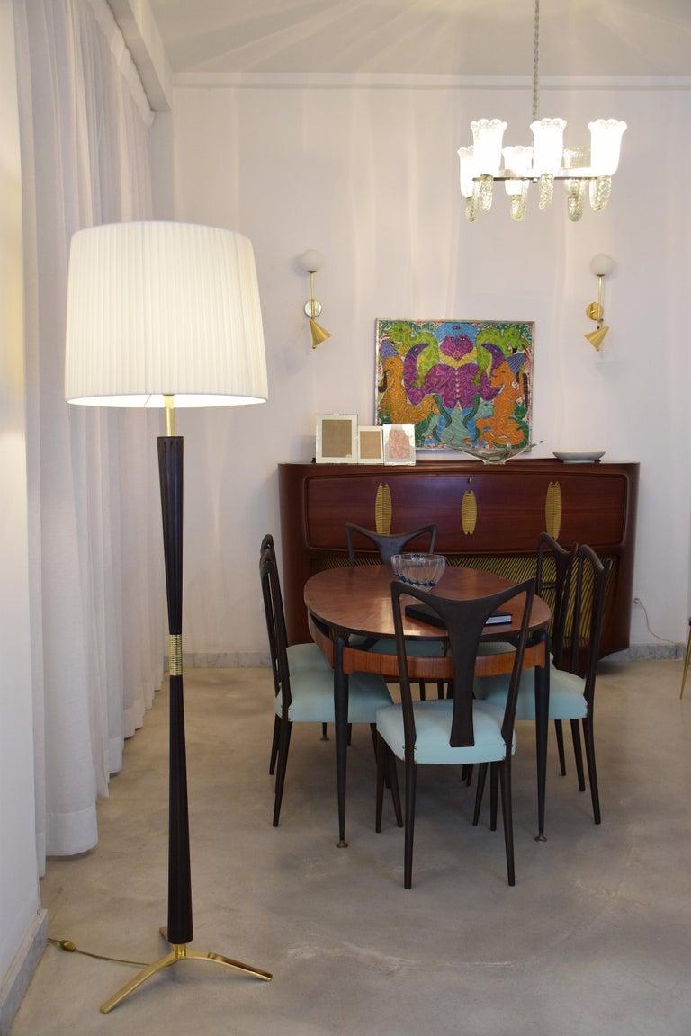 Mid-Century Modern Italian Midcentury Floor Lamp by Stilnovo, 1960s For Sale