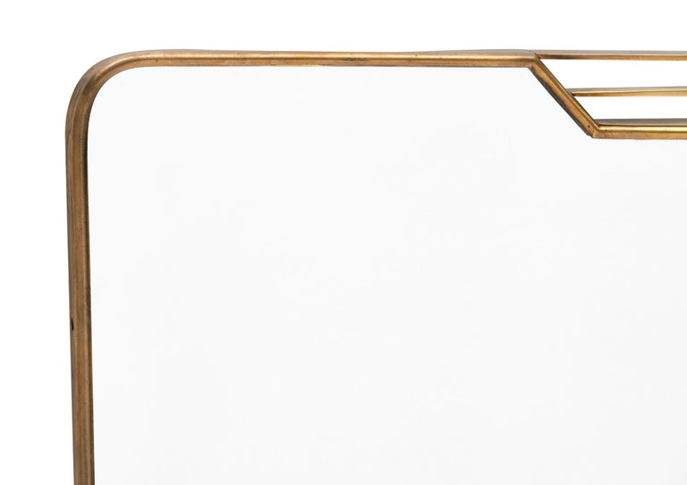 20th Century Italian Midcentury Mirror in the Style of Paolo Buffa For Sale
