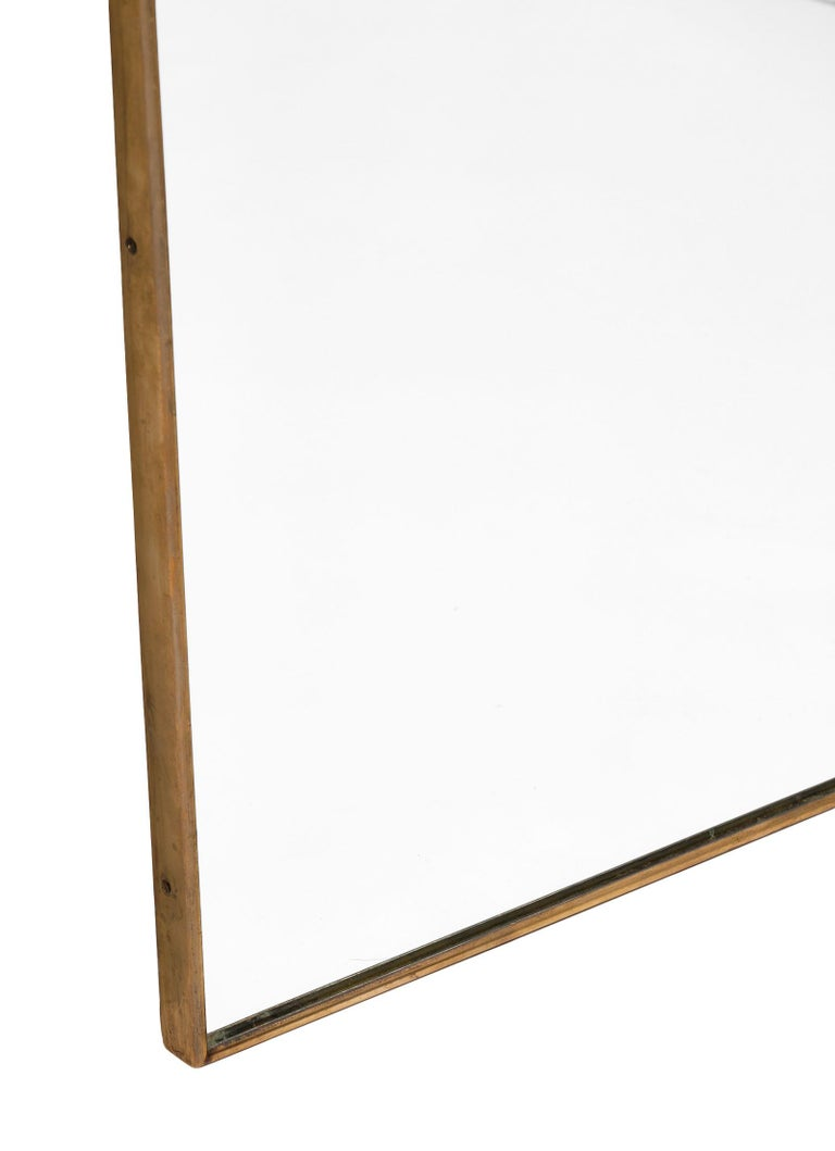 Italian Midcentury Mirror in the Style of Paolo Buffa For Sale 2