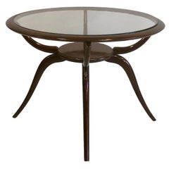 Italian Mid-Century Modern Arachnid Coffee / Side Table, Guglielmo Ulrich, 1940