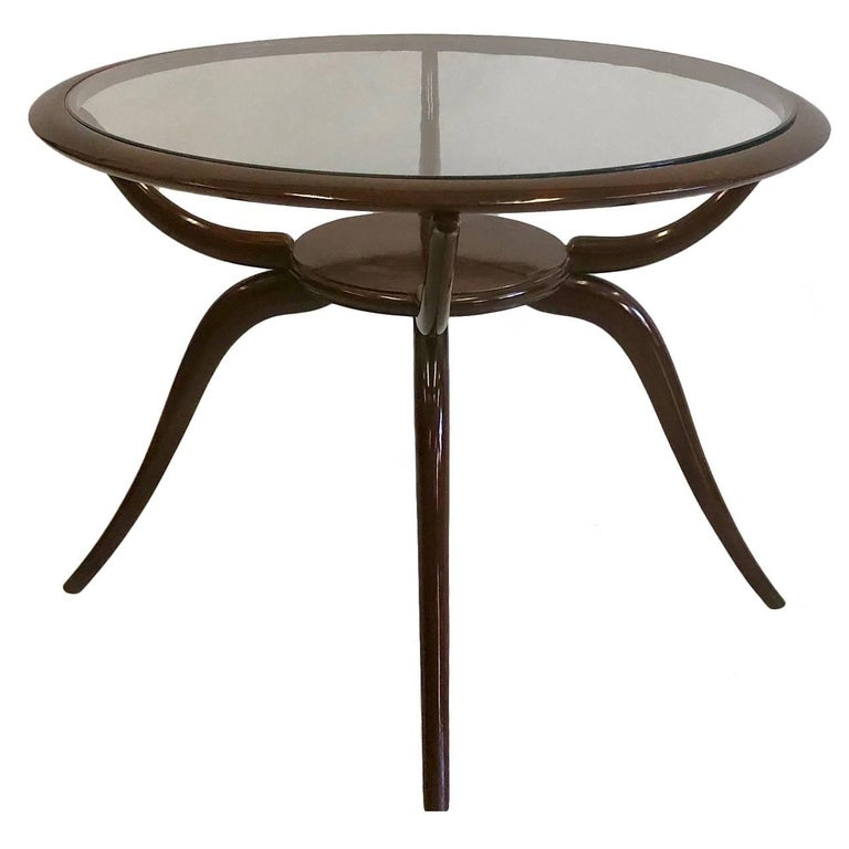 Italian Mid-Century Modern Arachnid Coffee / Side Table, Guglielmo Ulrich, 1940 For Sale