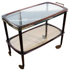 Italian Mid-Century Modern Bar Cart