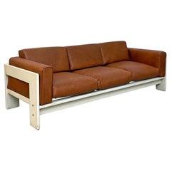 Italian Mid-Century Modern Bastiano Sofa by Afra E Tobia Scarpa Gavina, 1962