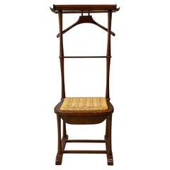Italian Mid-Century Modern Beech Valet Chair by SPQR