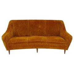 Italian Mid-Century Modern Bergamo Style Sofa