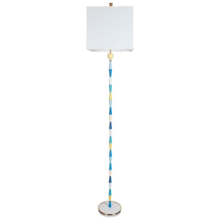 Mid Century Modern Br Floor Lamp