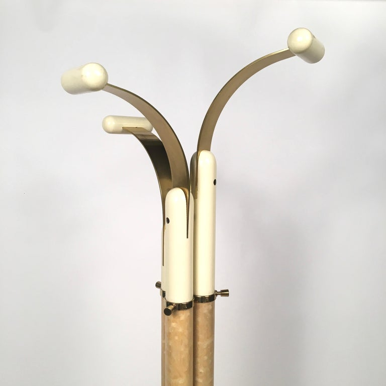 Good Prices On Furniture: Italian Mid-Century Modern Coat Racks Stands In Brass And