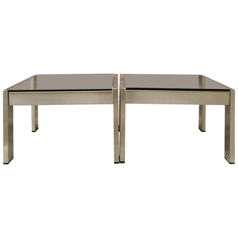 Italian Mid-Century Modern Coffee Tables by Gae Aulenti for Zanotta, 1970s For Sale