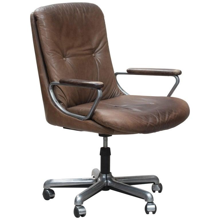 Italian Mid Century Modern Desk Chair